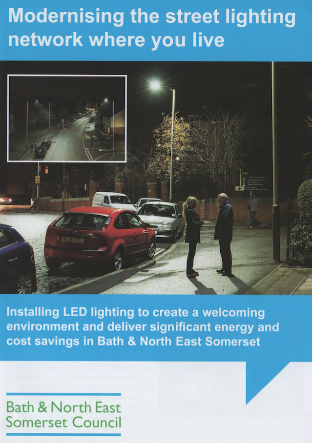 street light brochure